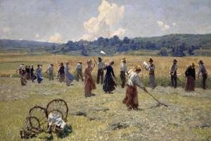 L'Armee Du Travail, 1895 by Luigi Rossi
