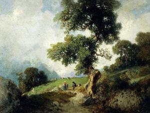 Landscape with Markings by Luigi Rossi