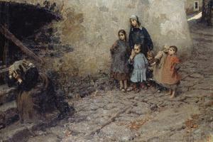 School of Suffering, 1895 by Luigi Rossi