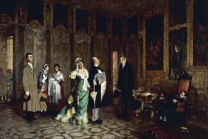 The Parvenus, 1872-1877 by Luigi Rossi