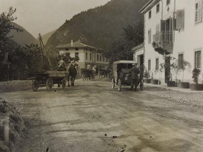 Lok Hospital in the Valley of the Natisone During the First World War