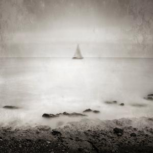 A Distant Sailing Boat on the Sea by Luis Beltran