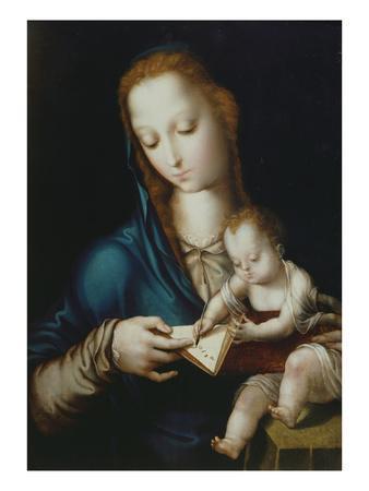Mary Teaching Jesus to Write, 16th Century