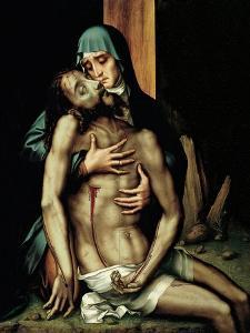 Pietà by Luis De Morales