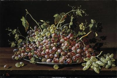 Still Life with a Plate of Grapes, 1771