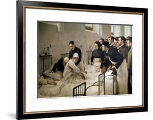 The Visit of the Doctor, 1897 by Luis Jimenez Aranda