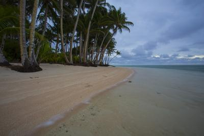 A Pristine Beach on the Uninhabited Island of Tatak in Papua New Guinea