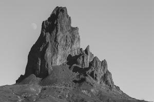 The Shiprock Rock Formation in San Juan County, New Mexico by Luis Lamar