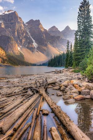 Moraine Lake, Glacial Lake in Banff National Park