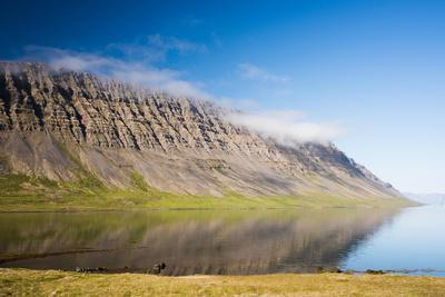 On the Road in the West Fjords of Iceland