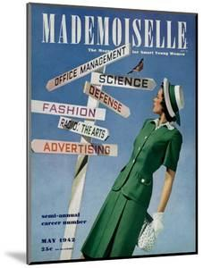 Mademoiselle Cover - May 1942 by Luis Lemus