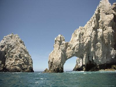 A Natural Arch over the Water