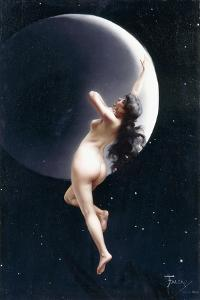 The Moon Nymph, 1883 by Luis Riccardo Falero