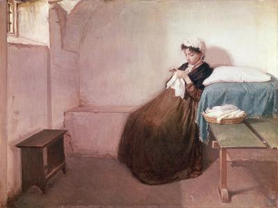 Luisa Sanfelice in Prison-Giovacchino Toma-Giclee Print