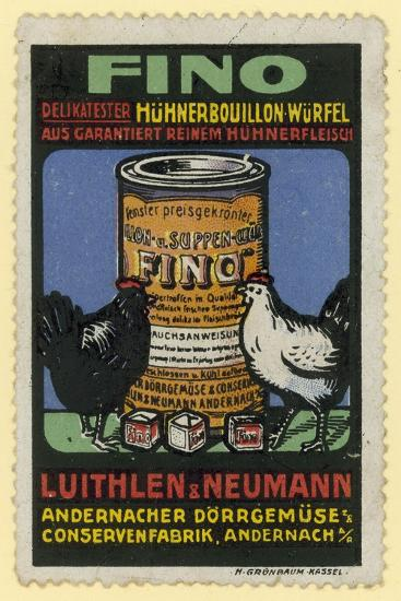 Luithlen and Neumann Fino Chicken Stock--Giclee Print