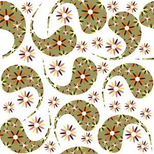 Paisley Pattern on White by Luizavictorya72