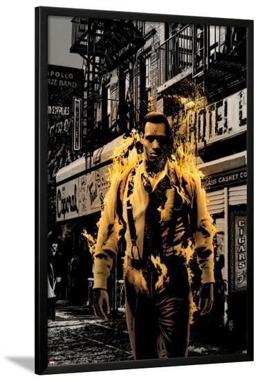 Luke Cage Noir No.3 Cover: Cage and Luke-Tim Bradstreet-Lamina Framed Poster