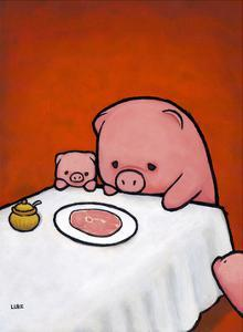 Revenge is a Dish (Pig) by Luke Chueh