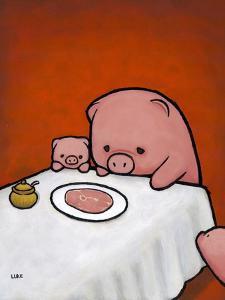 Revenge Is a Dish (Pig) by Luke Chueh
