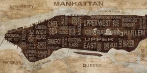 Manhattan Neighborhoods by Luke Wilson