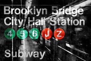 NYC Subway Station I by Luke Wilson