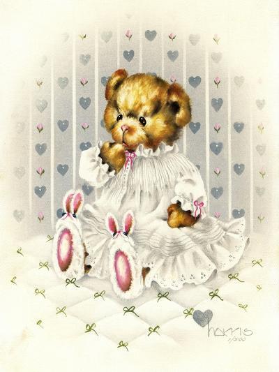 Lullabear-Peggy Harris-Giclee Print