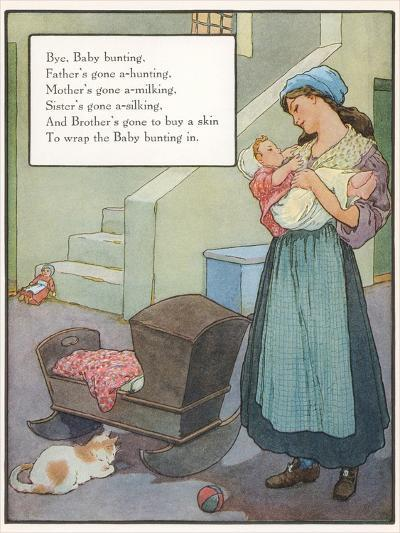 Lullaby, Mother and Child--Art Print