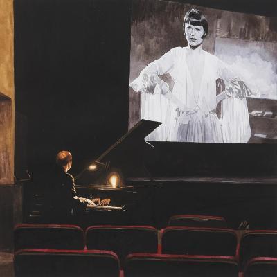 Lulu in New York II, 2014-Max Ferguson-Giclee Print