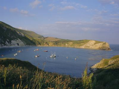 Lulworth Cove on the Coast of Dorset, England, UK, Europe-Charles Bowman-Photographic Print
