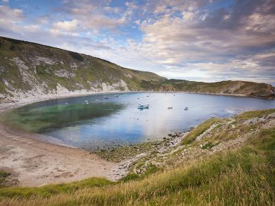 Lulworth Cove, Perfect Horseshoe-Shaped Bay, UNESCO World Heritage Site, Dorset, England-Neale Clarke-Photographic Print