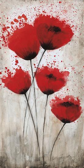 Luminous Crimson II-Catherine Brink-Art Print