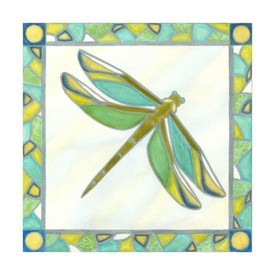 Luminous Dragonfly I-Vanna Lam-Art Print