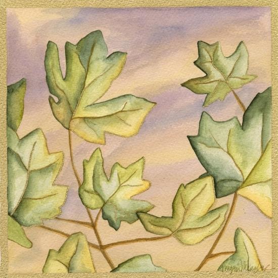 Luminous Leaves III-Megan Meagher-Art Print