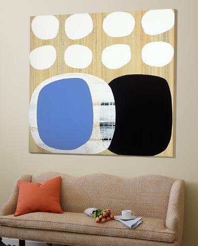 Luna Azul II-Mary Calkins-Loft Art