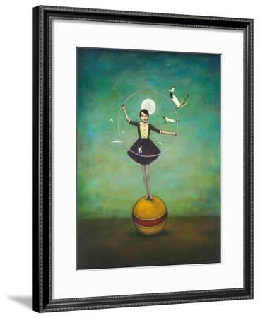 Luna's Circle-Duy Huynh-Framed Art Print