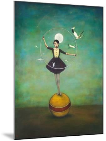 Luna's Circle-Duy Huynh-Mounted Art Print