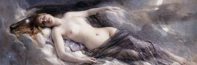 Luna-Leon Francois Comerre-Premium Giclee Print