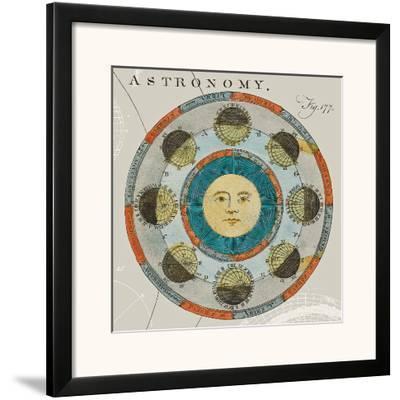 Lunar Calendar-Sue Schlabach-Framed Art Print