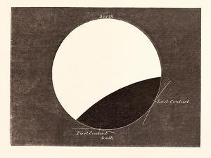 Lunar Eclipse on February 27, 1858