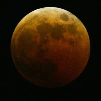 Lunar Eclipse-Harry Cabluck-Photographic Print