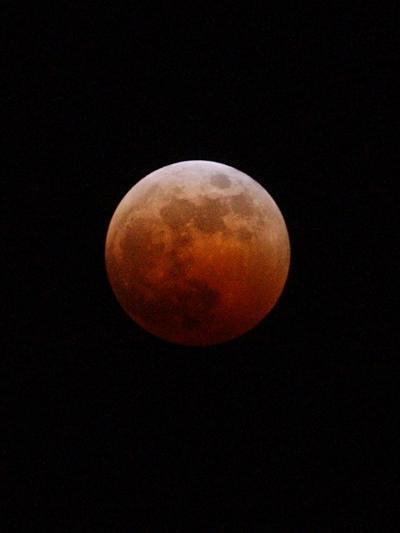 Lunar Eclipse-Alan Diaz-Photographic Print