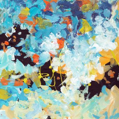 Lunar Freefall 2-Jan Weiss-Art Print