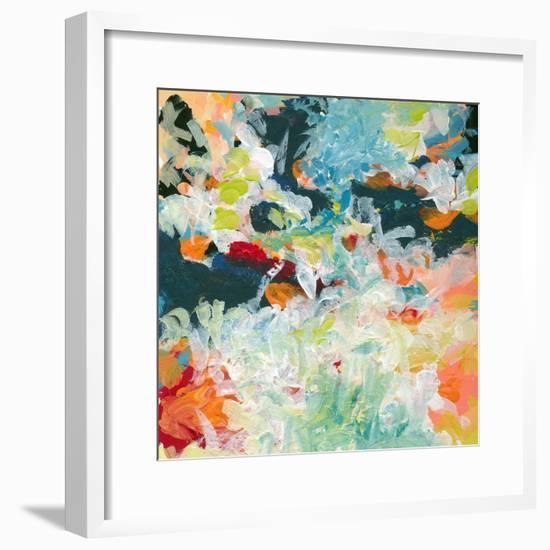 Lunar Freefall 3-Jan Weiss-Framed Art Print