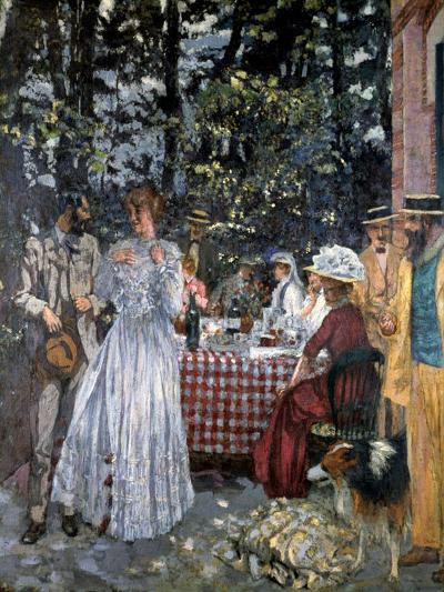 Lunch at Vasouy, 1901-Edouard Vuillard-Giclee Print
