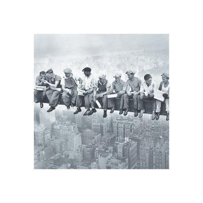 Lunch Atop A Skyscraper--Art Print