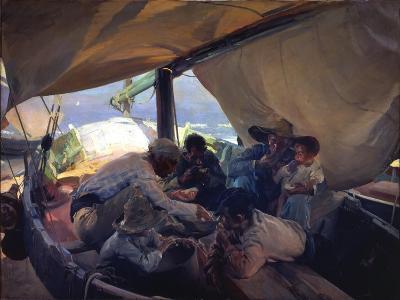 Lunch on the Boat-Joaqu?n Sorolla y Bastida-Giclee Print
