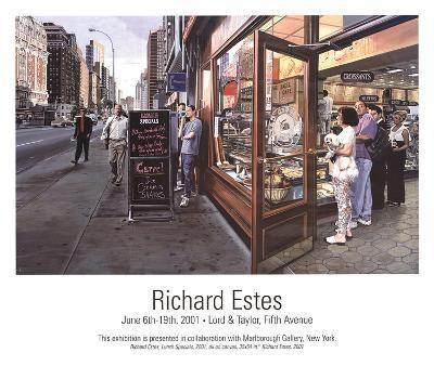 Lunch Specials-Richard Estes-Art Print