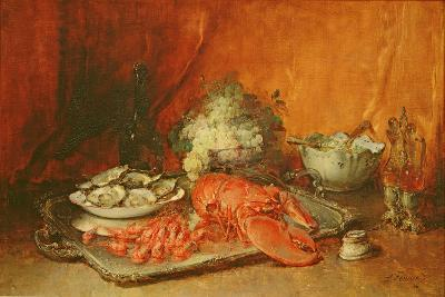 Luncheon of Lent-Guillaume Romain Fouace-Giclee Print