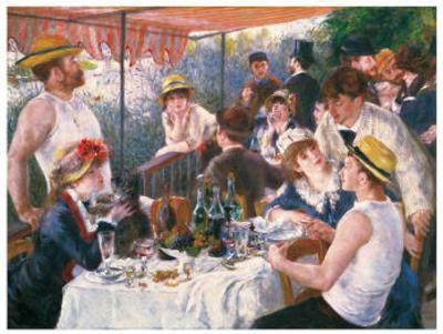 Luncheon of the Boating Party-Pierre-Auguste Renoir-Art Print