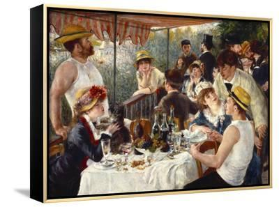 Luncheon of the Boating Party-Pierre-Auguste Renoir-Framed Canvas Print